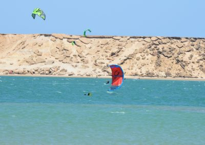 Kiting in Dakhla