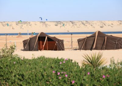 Tents Sand and Kites