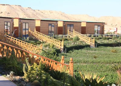 Sand Dunes by Bungalows