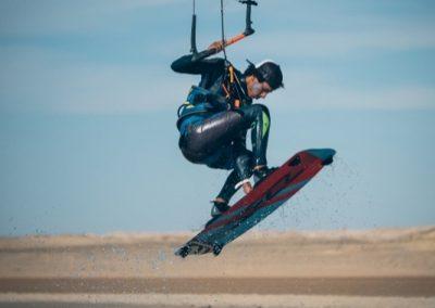 Kiteboarding at Dakhla Kitesurf World